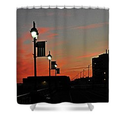 Evening At The Shore Shower Curtain