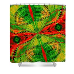 Evening Attitude Shower Curtain by Chad and Stacey Hall