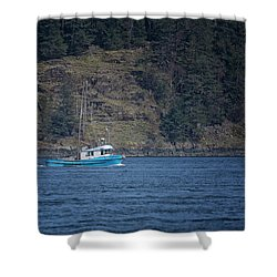 Evening Breeze Shower Curtain by Randy Hall