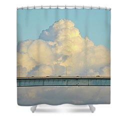 Evening Commute Shower Curtain