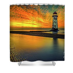 Shower Curtain featuring the photograph Evening Delight by Adrian Evans
