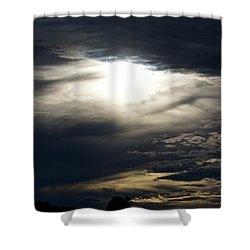 Evening Eye Shower Curtain