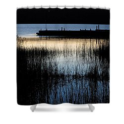 Evening Glow Shower Curtain by Mary Wolf