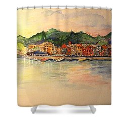 Evening In Skaneateles Shower Curtain