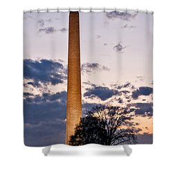Evening Inspiration Shower Curtain
