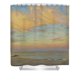 Evening Shower Curtain by Joe Bergholm