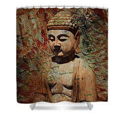 Evening Meditation Shower Curtain by Christopher Beikmann