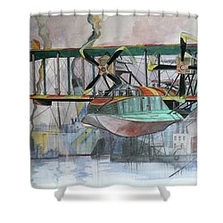 Evening Patrol Shower Curtain
