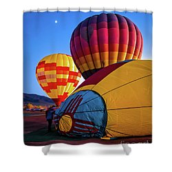 Evening Preparations Shower Curtain