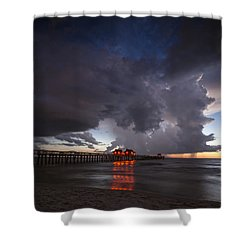 Evening Rain Shower Curtain