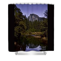 Evening Reflection Shower Curtain