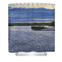 Evening Run Shower Curtain