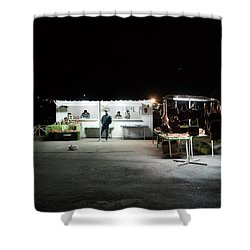 Evening Sales Shower Curtain