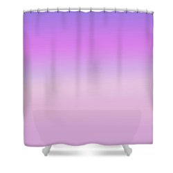 Evening Sky Abstract Shower Curtain by Denise Beverly