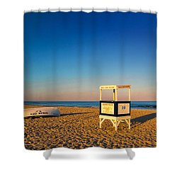 Evening Solitude Shower Curtain