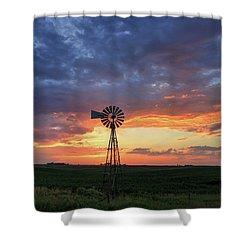 Evening Solitude Shower Curtain