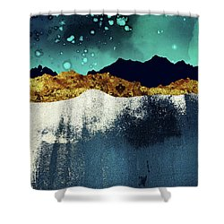 Evening Stars Shower Curtain