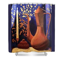 Evening Still Life Shower Curtain