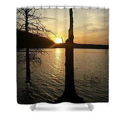 Evening Thoughts Shower Curtain