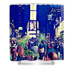 Event Shower Curtain by Gillis Cone