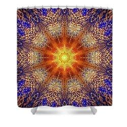 Event Horizon 003 Shower Curtain