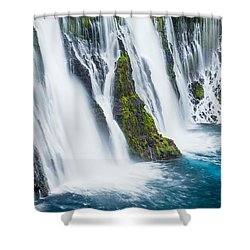 Ever Flowing Shower Curtain