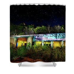 Everglades Gatorland Shower Curtain