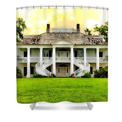 Evergreen Plantation Shower Curtain