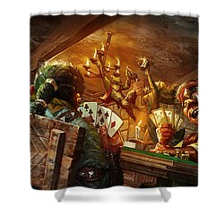Everquest Brew Day Shower Curtain