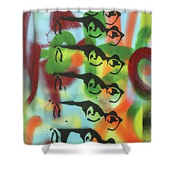 Every Day Is Like Sunday Shower Curtain