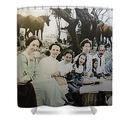 Shower Curtain featuring the photograph Every Day Life In Nation In Making by Miroslava Jurcik