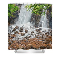 Every Day May Not Be Good, But There's Something Good In Every Day.  Shower Curtain