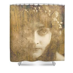 Shower Curtain featuring the painting Every Man Will Say That They Love You by Paul Lovering