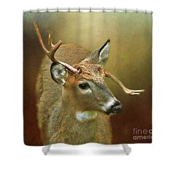 Every Which Way But ... Shower Curtain