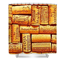 Every Which Way Rioja Shower Curtain