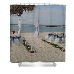 Shower Curtain featuring the photograph Everything Is Ready by Vadim Levin