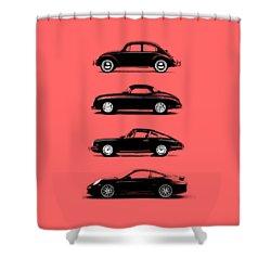 Evolution Shower Curtain by Mark Rogan