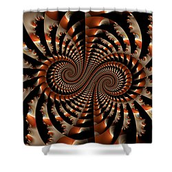 Shower Curtain featuring the digital art Exceeding The Chandrasekhar Limit by Manny Lorenzo