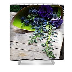 Shower Curtain featuring the photograph Excellent Customer Service. #flowers by Mr Photojimsf