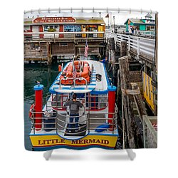 Excursion Boat Shower Curtain