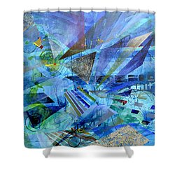 Excursions Of Vision Shower Curtain