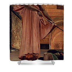 Execution Without Trial Under The Moorish Kings In Granada Shower Curtain by Henri Alexandre Georges Regnault
