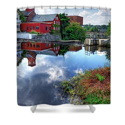 Exeter New Hampshire Shower Curtain by Rick Mosher