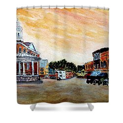 Exeter Nh Circa 1920 Shower Curtain