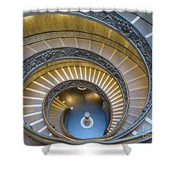 Exeunt Sistine Chapel Shower Curtain