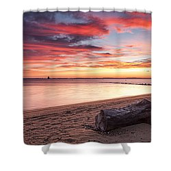 Shower Curtain featuring the photograph Exhale by Edward Kreis