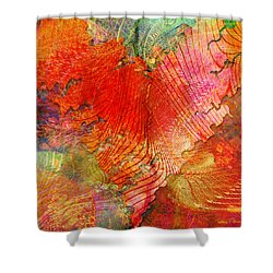 Exhilaration Shower Curtain
