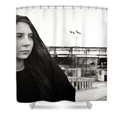 Exit Shower Curtain