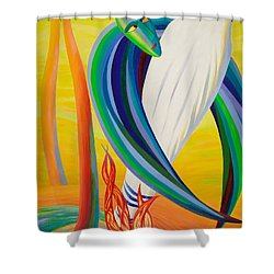 Exodus Of Jesus Shower Curtain