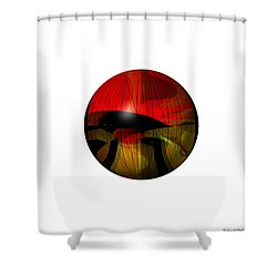 Exoplanet  Shower Curtain by Thibault Toussaint
